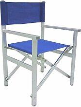 Chaise fauteuil metteur en scène Bleu pliable