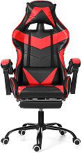 Chaise Gaming avec Repos-pieds Fauteuil Gaming