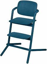 Chaise haute bois Gold Lemo Twilight - Bleu - Cybex