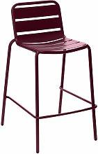 Chaise haute de jardin empilable design Phuket -
