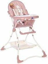 Chaise haute pour bébé bonbon  lorelli beige