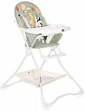 Chaise haute pour bébé bonbon  lorelli vert