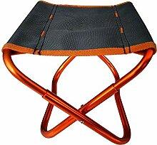 Chaise légère extérieure portable tabouret