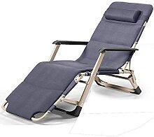 Chaise longue de jardin inclinable zéro gravité