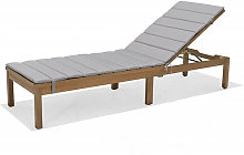 Chaise longue de jardin Milan Chillvert