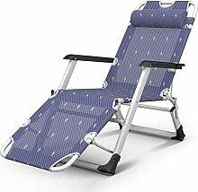 Chaise longue de jardin pliante réglable pour