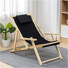 Chaise Longue et Pliable en Bois Pliable Chaise