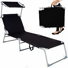 Chaise Longue Inclinable Camping Pliantes