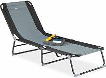Chaise longue pliable réglable 5 positions bain