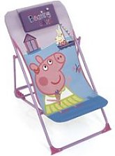 Chaise longue pliante 43x66x61cm de eone-peppa pig
