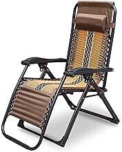 Chaise Longue Pliante Chaise inclinable Balcon