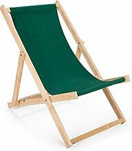 Chaise longue pliante, chaise longue de plage