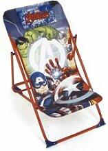 Chaise longue pliante de marvel-avengers