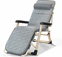 Chaise longue pliante - Lit de camping - Chaise