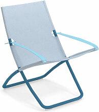 Chaise longue SNOOZE de Emu, Bleu