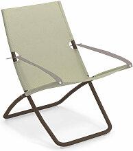 Chaise longue SNOOZE de Emu, Marron d'Inde /
