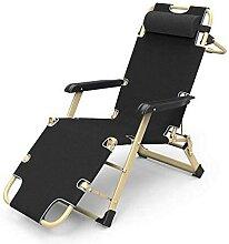 Chaise longue Zero Gravity pour le camping,