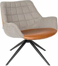 Chaise lounge Doulton Vintage Marron