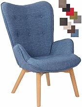 Chaise Lounge Durham en Tissu I Chaise Fauteuil