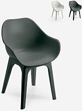 Chaise moderne en polypropylène pour cuisine