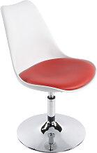 Chaise moderne pivotante 'QUEEN' réglable