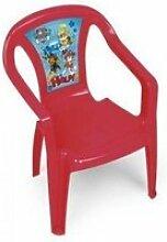 Chaise monobloc pat patrouille