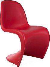 Chaise Panton - Rouge
