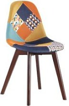 Chaise patchwork retro home deco factory HD7416
