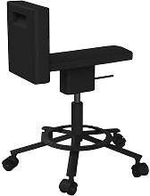 Chaise pivotante 360° de Magis, Noir
