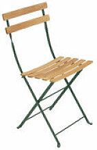 Chaise pliante Bistro / Bois - Fermob vert en bois