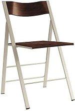 chaise pliante bois wengue