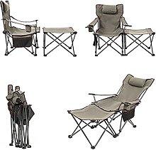 Chaise Pliante Camping 150kg, Chaise de Plage