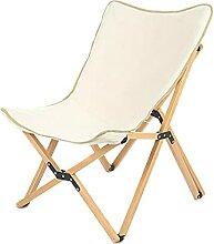 Chaise Pliante Camping Chaise de camping en bois