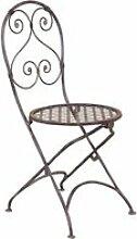 Chaise pliante de salle à manger de jardin