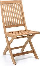 Chaise pliante DENIS, Teck