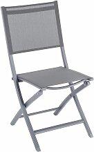 Chaise pliante extérieur Essentia quartz/ardoise