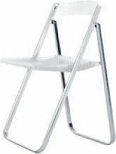 Chaise pliante Honeycomb / Transparente -
