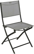 Chaise pliante Modula Hesperide galet/graphite -