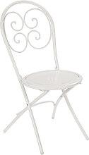 Chaise pliante PIGALLE de Emu, Blanc mat