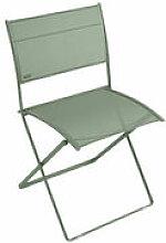 Chaise pliante Plein Air / Toile - Fermob vert en