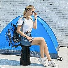 Chaise Pliante rétractable, Tabouret Portable
