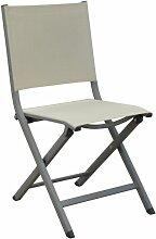 Chaise pliante Thema Taupe / Beige Vendu(e)s par 6
