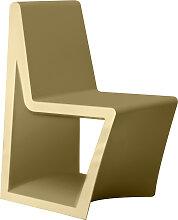 Chaise REST de Vondom, Beige
