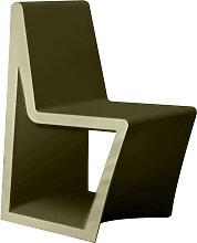 Chaise REST de Vondom, Kaki