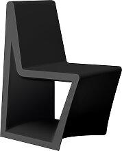 Chaise REST de Vondom, Noir