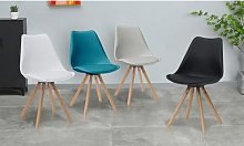 Chaise style scandinave Camelia : Gris / 2