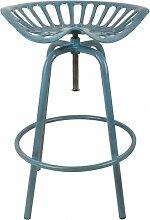 Chaise style tracteur - Fonte - Bleu - Livraison