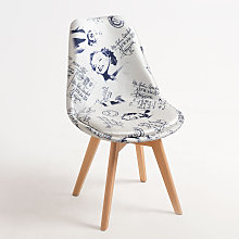 Chaise Synk Patchwork - Glamour