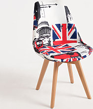 Chaise Synk Patchwork - London