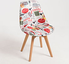 Chaise Synk Patchwork - Magazine